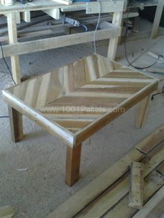 Pic 1212 180 600x800 Chevron coffee table in pallet furniture  with Pallets Coffee table