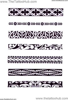 Polynesian Arm Bands | ... Tattoo Hub: Tattoo`s by Type » Polynesian Tribal » polynesian: