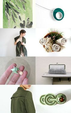 Green by maya ben cohen on Etsy--Pinned with TreasuryPin.com