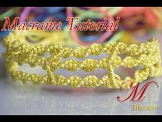 How to make macrame The three together Bracelet tutorial - YouTube