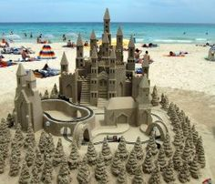 Learn How to Build Sandcastles: 5 Quick Tips. #sand #castle #howto #blog
