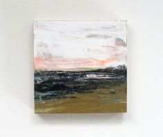 Original Painting.  Abstract Landscape Painting. by SnoogsAndWilde, $65.00