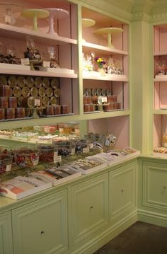 Pastry shop--(these are the new colors in Lucy's room-L)