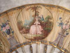 Ancien Eventail Époque Xviiième FAN Abanico Ventaglio Fächer 18 TH C | eBay