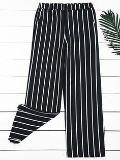 GET $50 NOW | Join Zaful: Get YOUR $50 NOW!http://m.zaful.com/high-waisted-striped-wide-leg-pants-p_299570.html?seid=2588124zf299570