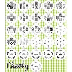2012 Collection Is Here!!! Stamping Nail Art Image Plates Bundle of 26 Nailart Image Plates with 160 Designs By Cheeky.