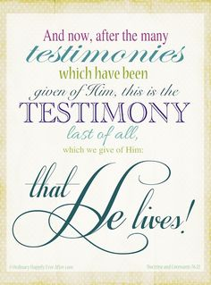 Free Printable for Doctrine and Covenants 76:22 @ Ordinary Happily Ever After