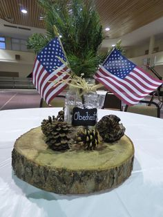 Rolling Ledfords: Eagle Scout Court of Honor for Our Grandson Jackson Scout Mom, Cub Scouts, Girl Scouts, Eagle Scout Project Ideas, Eagle Scout Cake, Ceremony Decorations, Table Decorations, Americana Decorations, Eagle Scout Ceremony