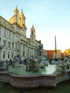 La Plaza Novona mi favorita en Roma :D