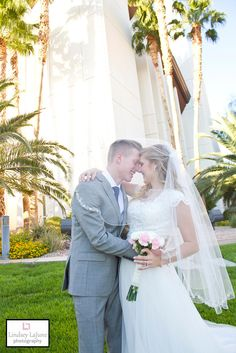 Lindsey LaJune Photography | Cameron and Katherine Bridal Session | Las Vegas Temple | Wedding | Temple Wedding | Bridal Session
