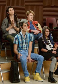 Scambi di ruoli in Glee