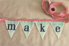 Do It Yourself Holiday Banners