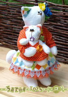 Toy Mundial (têxteis brinquedos animais usando técnicas diferentes) - Comunidade »Artesanato» - Babyblog.ru