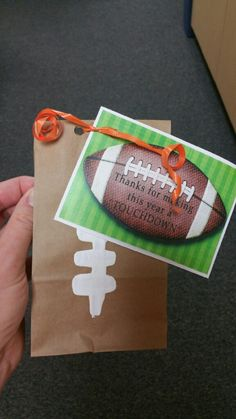 This is Part Two of a Blog Post about a Sports Themed Teacher Appreciation Week. This posts details the handouts we gave our to the teacher...