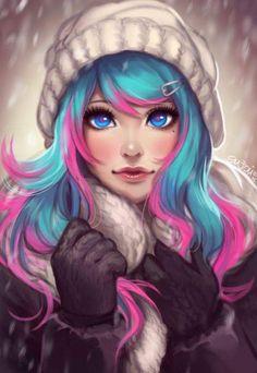 if i was an anime…. 🙂 if i was an anime…. Pretty Art, Cute Art, Cute Girl Drawing, Digital Art Girl, Image Manga, Beautiful Anime Girl, Anime Art Girl, Anime Girls, Cartoon Art
