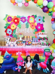 Trolls Party Birthday Party Ideas | Photo 1 of 39