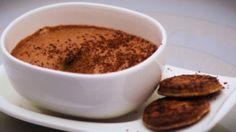 mousse au chocolat et à l'orange et sablé orange
