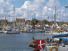Safe harbour: Gilleleje provided a vital escape route