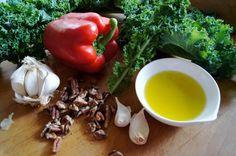Kale Red Pepper Pesto