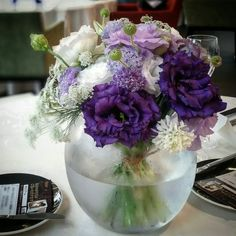 White & purple