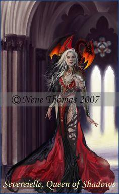 """""""Dragon Witch Severeielle"""" - Nene Thomas"""