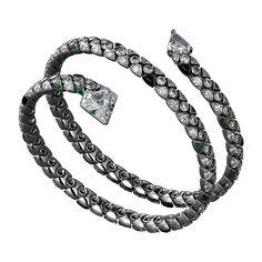 High Jewelry bracelet White gold, amethysts, diamonds