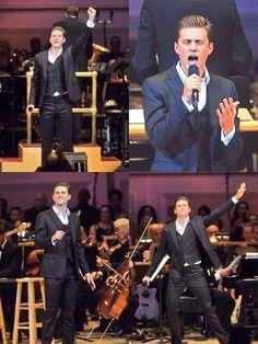 Aaron Tveit performing at NY Pops 31st Birthday at Carnegie Hall