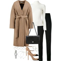 Untitled #5261 by theeuropeancloset on Polyvore featuring Philosophy di Lorenzo Serafini, IRO, Yves Saint Laurent, Chanel, Casio, Dinny Hall and Boohoo
