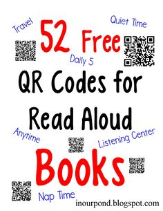 101 best free audio books images on pinterest free audio books free qr codes for read to me books fandeluxe Images