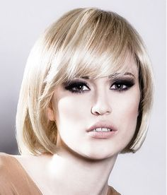Hairstyle by Burlingtons Hair  Gorgeous fringe, gorgeous eyes and perfect brows    www.ukhairdressers.com