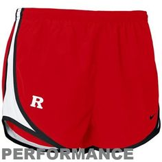 Nike Rutgers Scarlet Knights Ladies Scarlet NikeFIT Tempo Performance Training Shorts