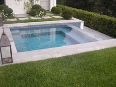 Small pool by Walker Pools.