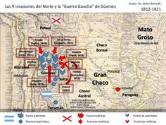 La guerra gaucha de Guemes