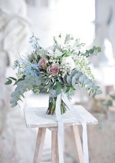 soft pastel wedding bouquet