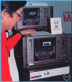 Luxman X3K tape-deck It was a prototype presented at 1982 Japan's Tokyo Audio Fair. These were never put into production But still the best they ever made for the cassette format