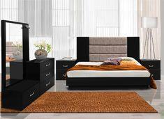 Brown Furniture Bedroom, Furniture Design, Bedroom Furniture Design, Bedroom Interior, Bed Furniture Design, Bedroom Furniture Sets, Bed Design, Master Bedrooms Decor, Bedroom Bed Design