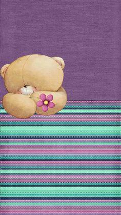 teddy bakgrunn mobil