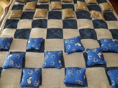Checkers Game Handmade One of A Kind Quilted by SherisShoppe, $79.99