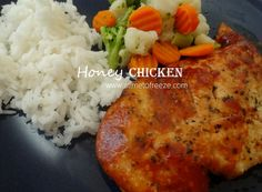 This flavorful, freezer-friendly recipe for Honey Chicken taste great and is super quick and easy to prepare. Best Freezer Meals, Freezable Meals, Freezer Cooking, Easy Meals, Chicken Freezer, Simple Meals, Honey Recipes, Crockpot Recipes, Chicken Recipes