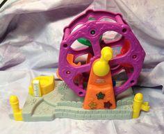 Fisher Price Little People Ferris Wheel Lights Music for Fun Park #FisherPrice