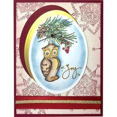 Owl Ornament by Jamie Martin