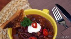 Chili con carne w wersji light