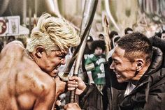 """Great shot from the 2014 live-action film of Santa Inoue's """"Tokyo Tribe"""" manga"""