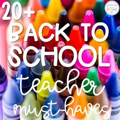 Back to School Teacher Must-Haves