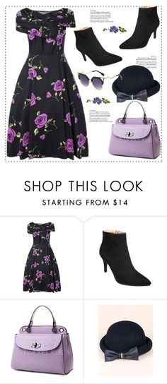 """""""My lilac day"""" by duma-duma ❤ liked on Polyvore featuring vintage"""