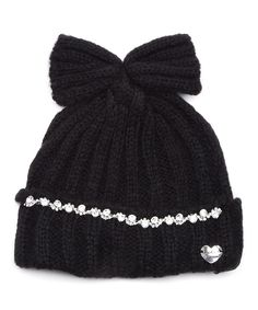 This Black On The Rocks Hat by Betsey Johnson is perfect! #zulilyfinds
