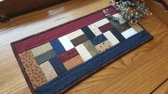 Quilted Table Runner / Table Topper / Primitive Table Runner/ Handmade by CountryRoseatHeart on Etsy