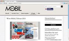 Für die Wiener Stadtwerke Holding brachte echonet das neue Kundenmagazin »Wien Mobil« auch im Web an den Start und zeigt das Magazin auch auf allen Endgeräten.