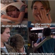 the fault in our stars- saw the movie Thursday and this is completely accurate