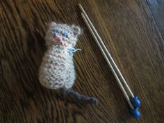 Waldorf ~ 1st grade ~ Handwork ~ Make Knitting Needles ~ Knit Stitch ~ project reasoning and information